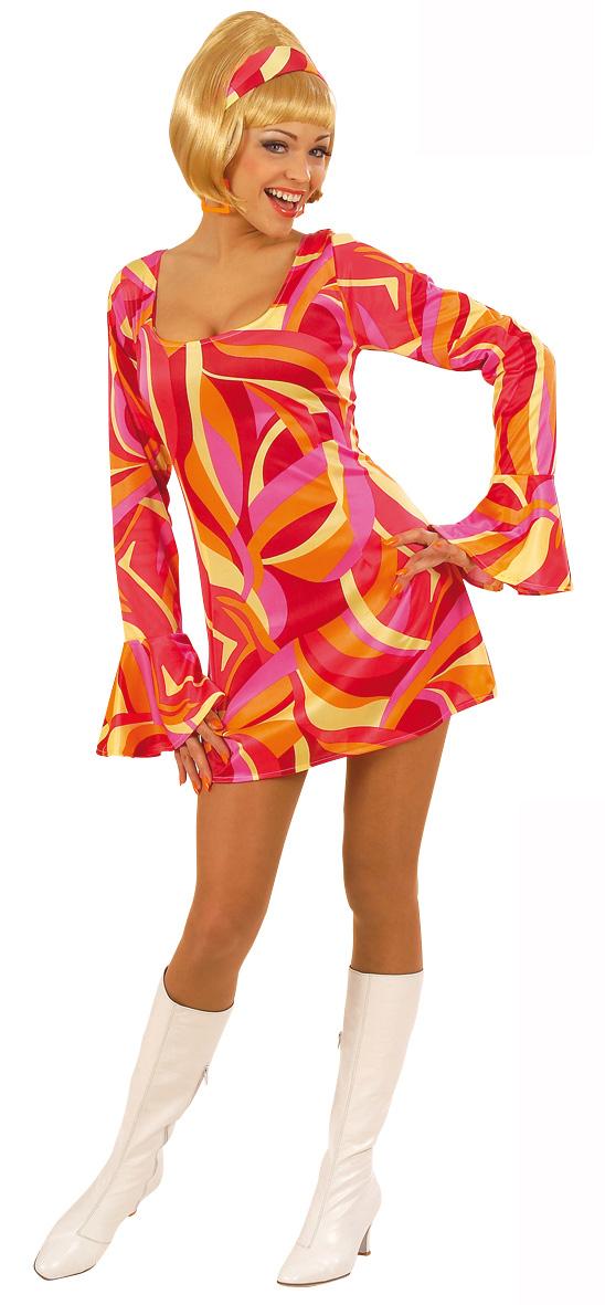 Photo du produit Déguisement disco rouge femme