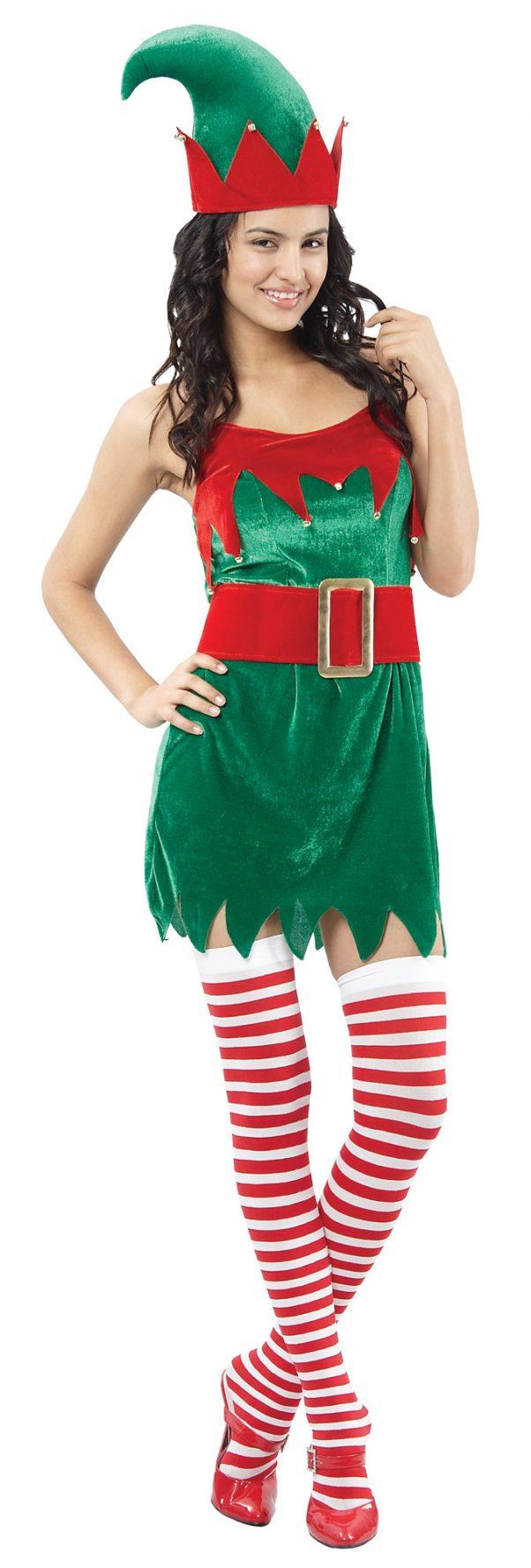 Photo du produit Déguisement Elfe sexy femme Noël
