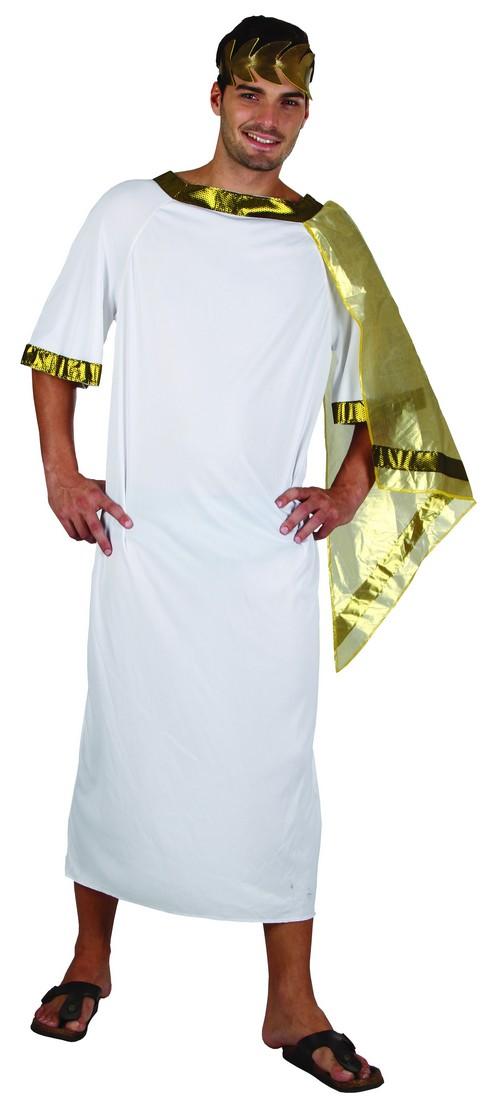 Photo du produit Déguisement empereur romain cape dorée homme