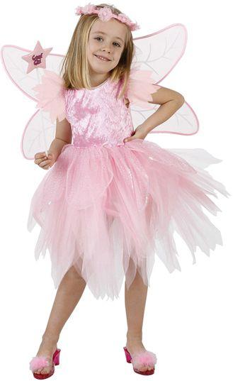 Photo du produit Déguisement fée rose pale fille