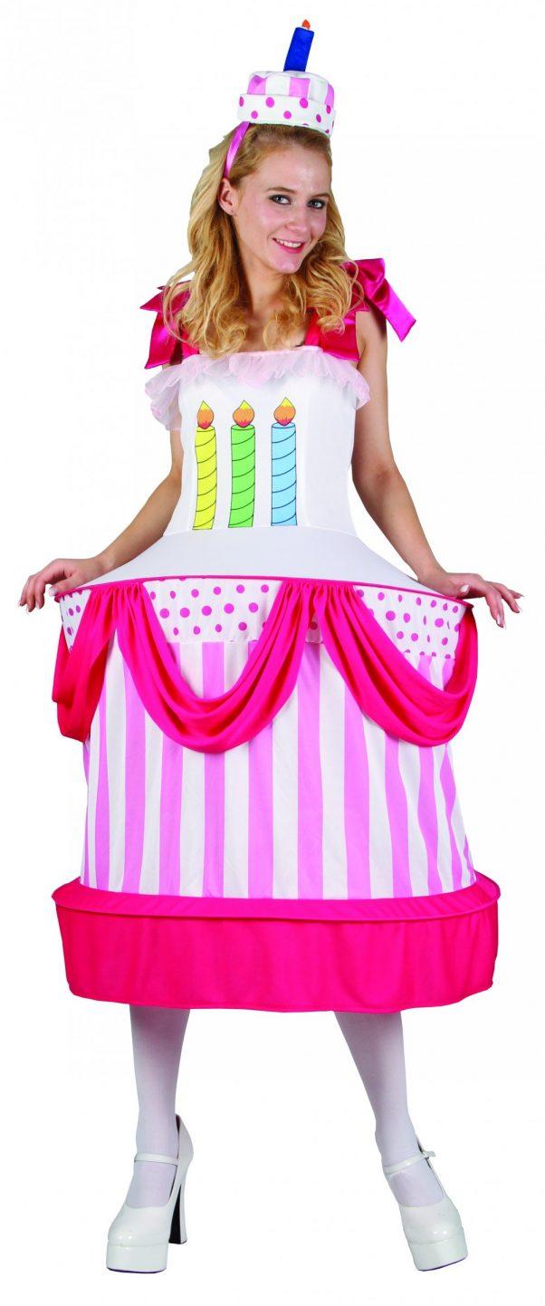 Photo du produit Déguisement gâteau d'anniversaire femme