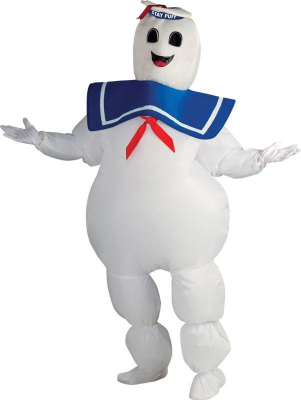 Photo du produit Déguisement gonflable bibendum Chamallow Ghostbusters adulte