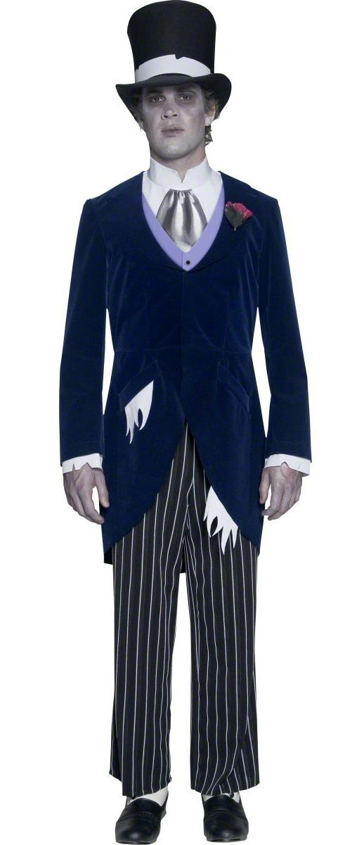 Photo du produit Déguisement gentleman gothique homme Halloween