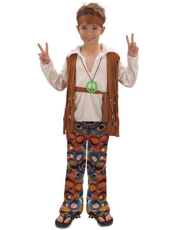 Photo du produit Déguisement hippie marron garçon