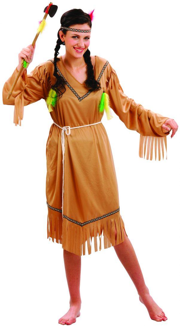 Photo du produit Déguisement indienne robe longue femme