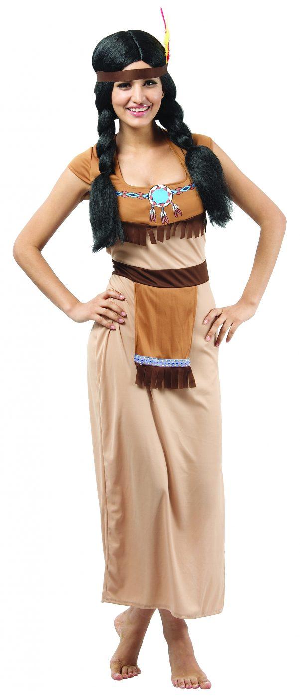 Photo du produit Déguisement indienne robe longue sexy femme