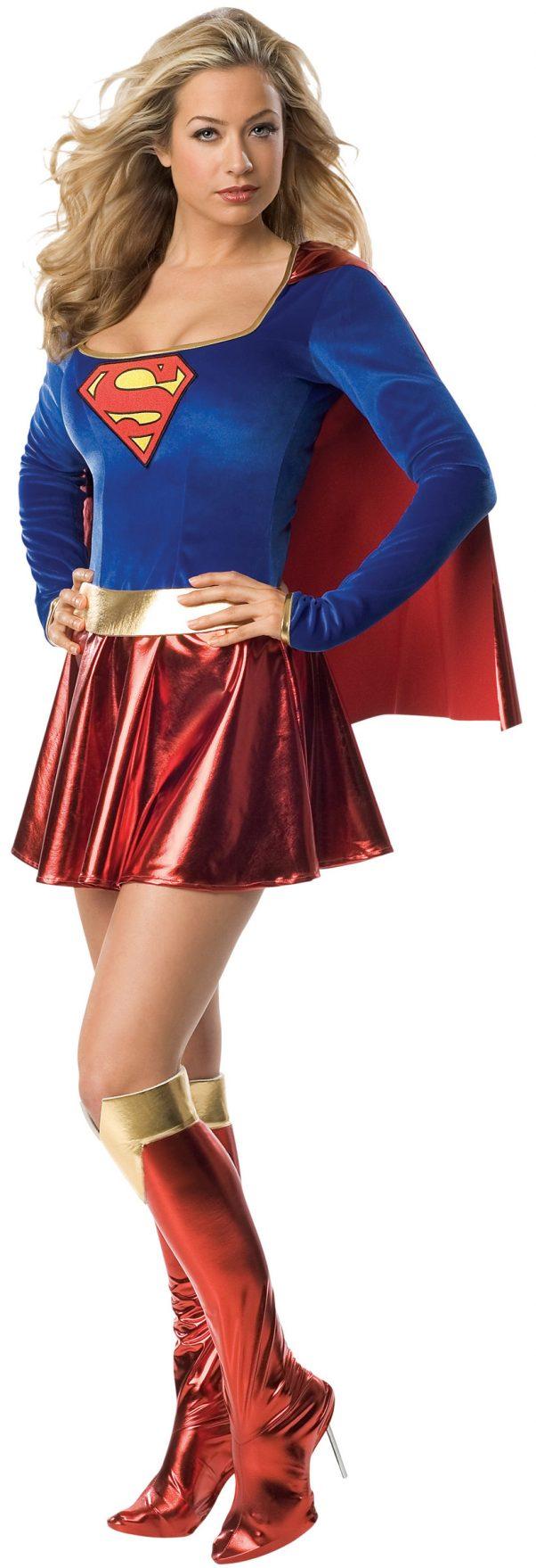 Photo du produit Déguisement sexy Supergirl femme