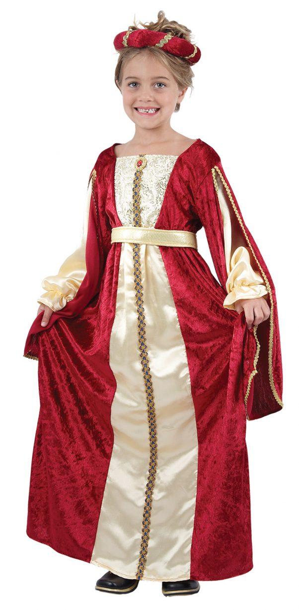 Photo du produit Déguisement médiévale reine fille