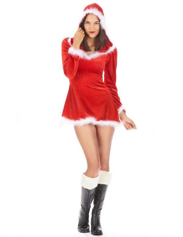 Photo du produit Déguisement Mère Noël sexy manches longues femme