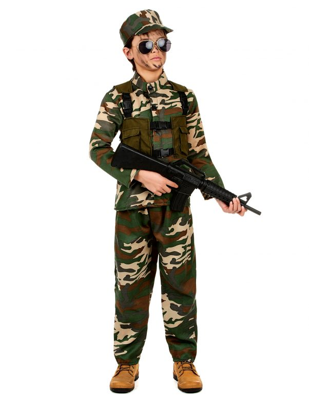 Photo du produit Déguisement militaire ensemble garçon