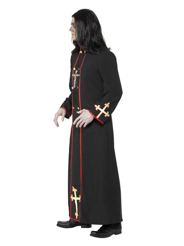 Photo du produit Déguisement moine démoniaque homme Halloween