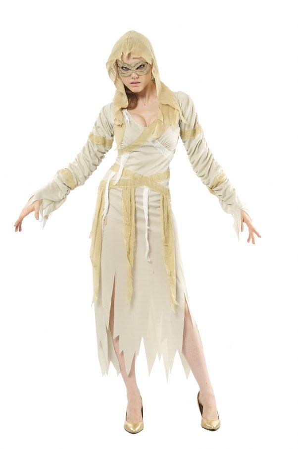 Photo du produit Déguisement momie beige femme