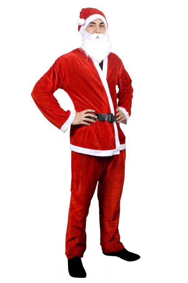 Photo du produit Déguisement Père Noël rouge homme