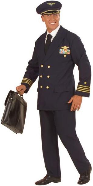 Photo du produit Déguisement capitaine d'avion homme