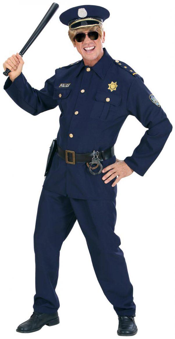 Photo du produit Déguisement policier bleu marine homme