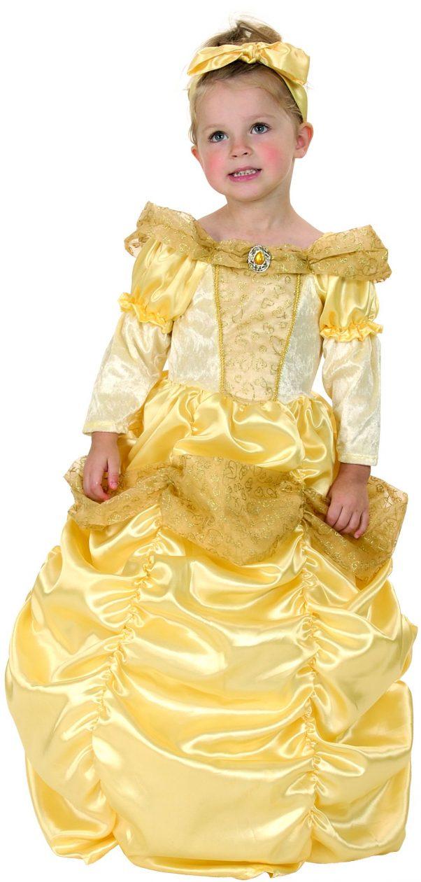 Photo du produit Déguisement princesse dorée fille