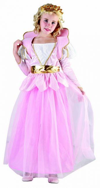 Photo du produit Déguisement princesse avec ceinture dorée fille