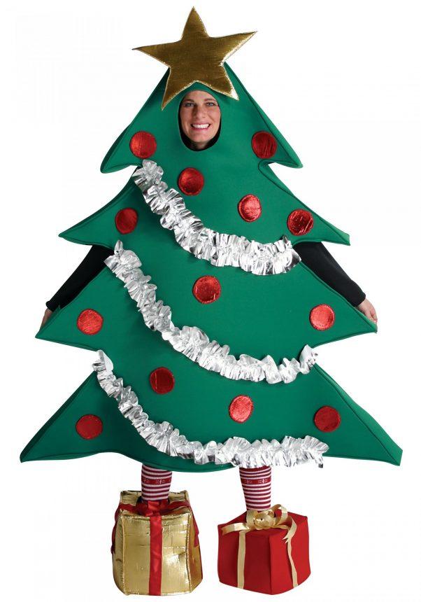 Photo du produit Déguisement sapin de Noël humoristique adulte