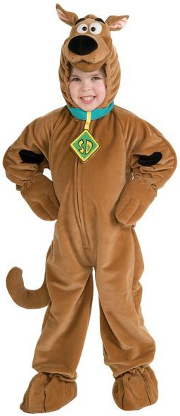Photo du produit Déguisement Scooby-Doo avec collier enfant