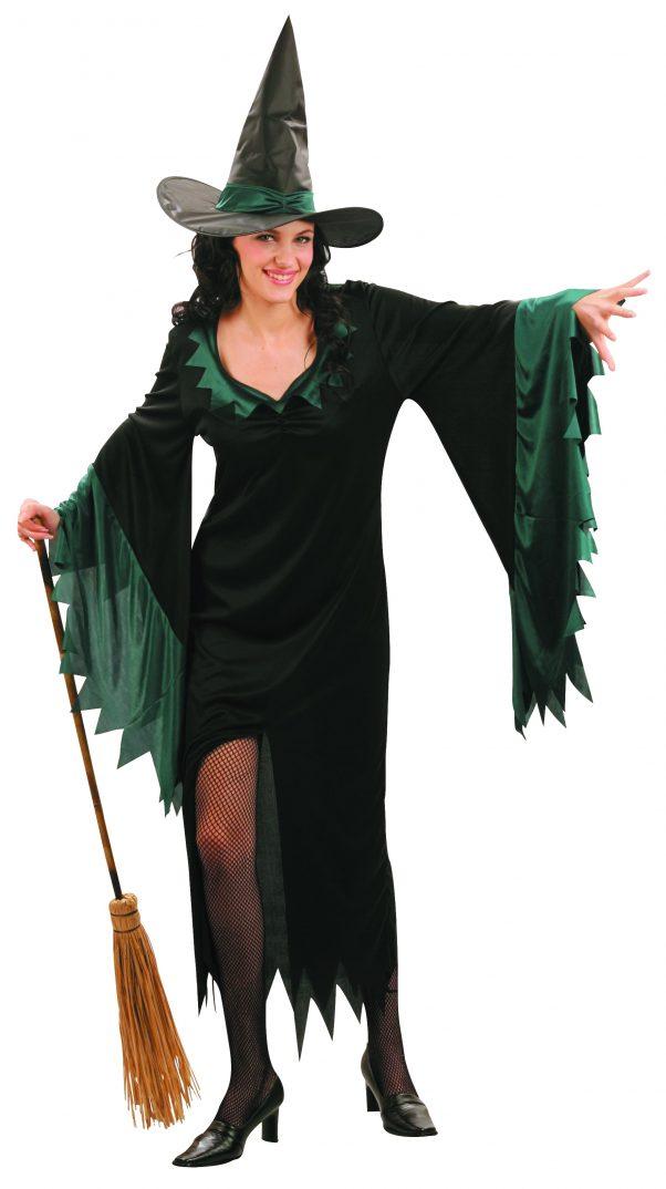 Photo du produit Déguisement sorcière longue femme