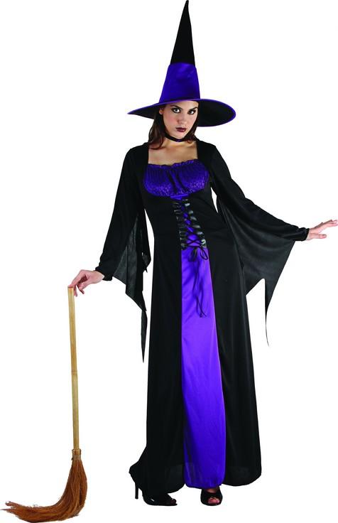Photo du produit Déguisement sorcière à corsage femme Halloween
