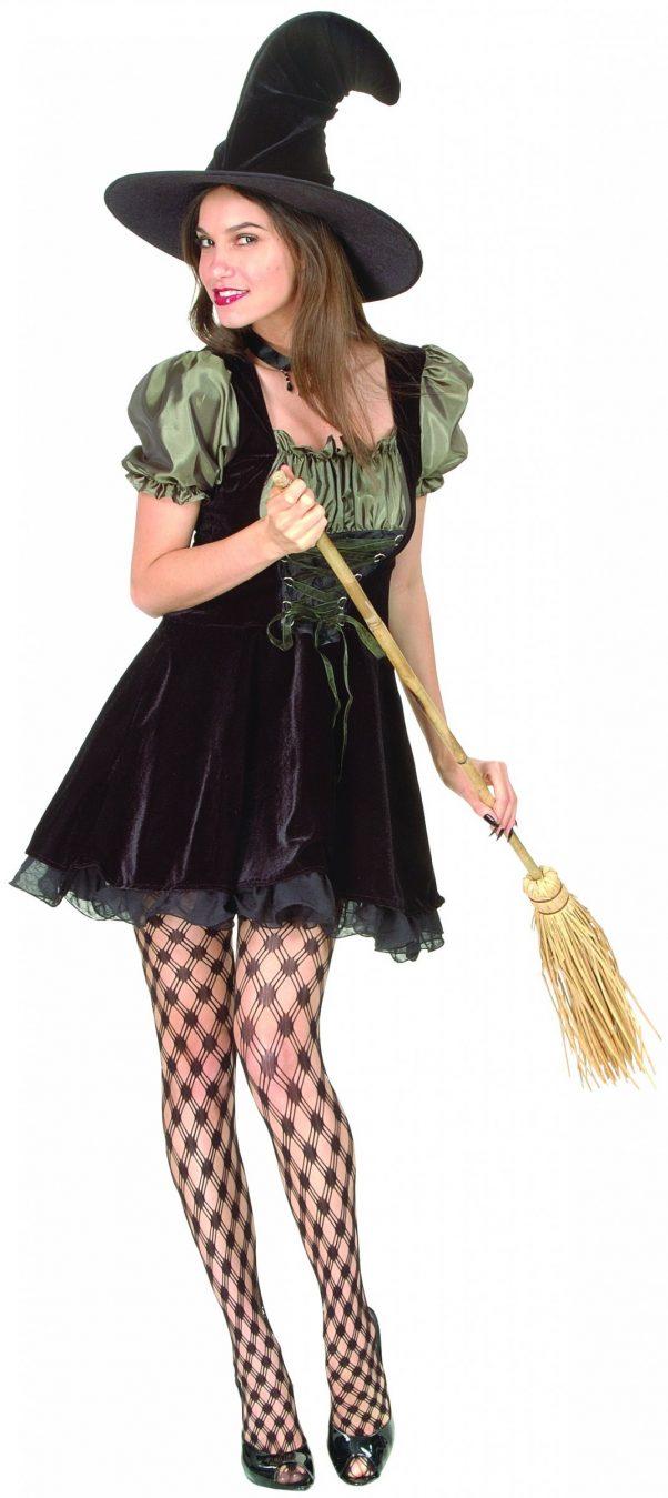 Photo du produit Déguisement sorcière adulte Halloween