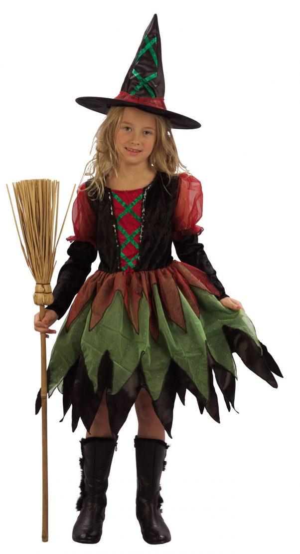 Photo du produit Déguisement sorcière des bois fille Halloween