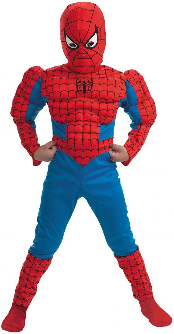 Photo du produit Déguisement Spiderman musclé garçon