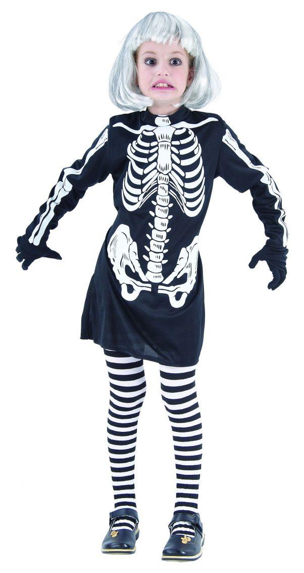Photo du produit Déguisement squelette fille Halloween