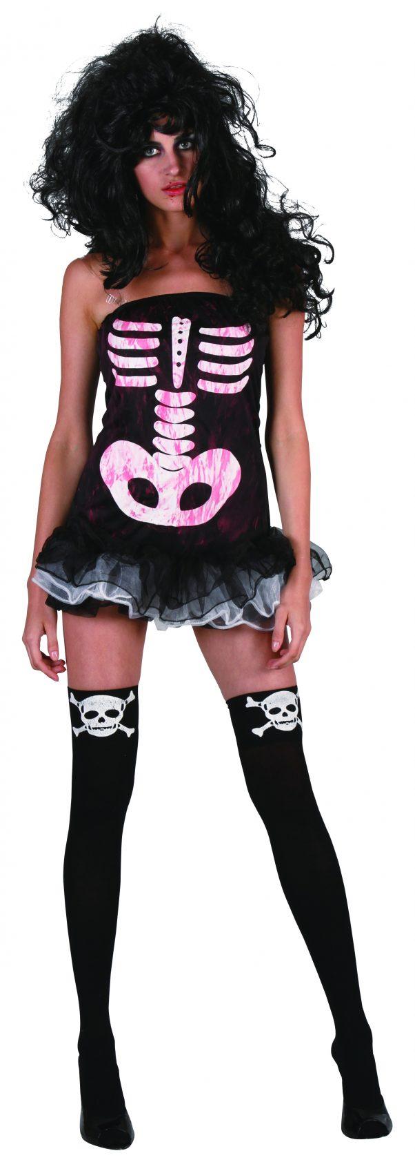 Photo du produit Déguisement squelette sexy adulte Halloween pour femme