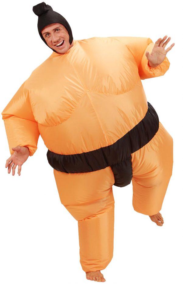 Photo du produit Déguisement humoristique sumo gonflable adulte