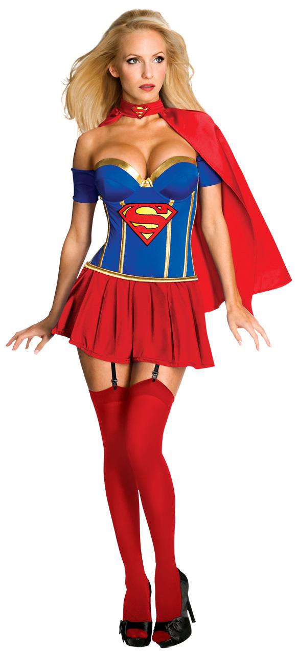 Photo du produit Déguisement Supergirl femme sexy