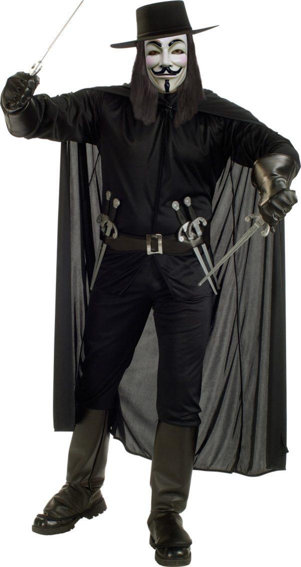 Photo du produit Déguisement V pour Vendetta homme