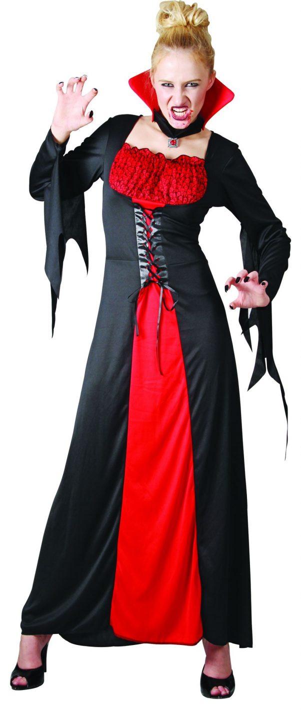 Photo du produit Déguisement vampire élégant femme Halloween