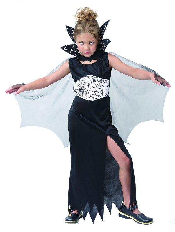 Photo du produit Déguisement sorcière araignée fille Halloween