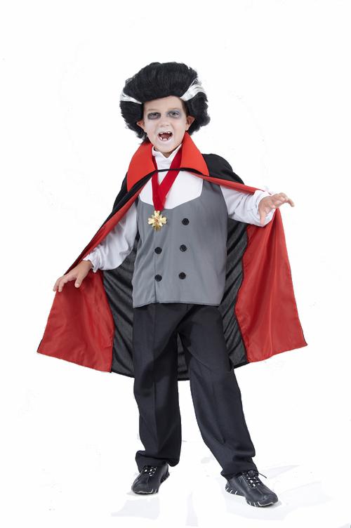 Photo du produit Déguisement vampire garçon gris Halloween