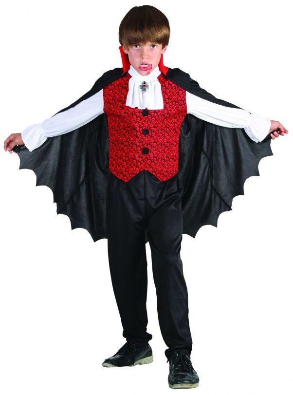 Photo du produit Déguisement vampire garçon rouge Halloween