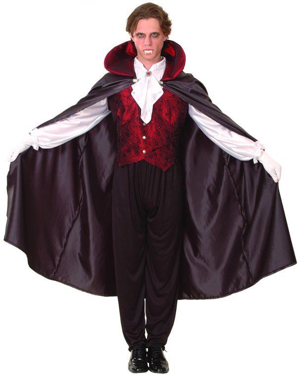 Photo du produit Déguisement vampire rouge homme Halloween