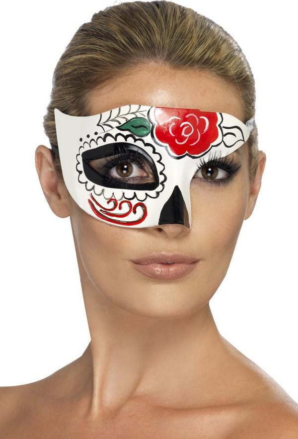 Photo du produit Demi masque coloré adulte Halloween