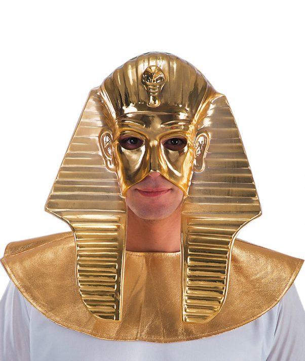 Photo du produit Demi masque doré pharaon homme