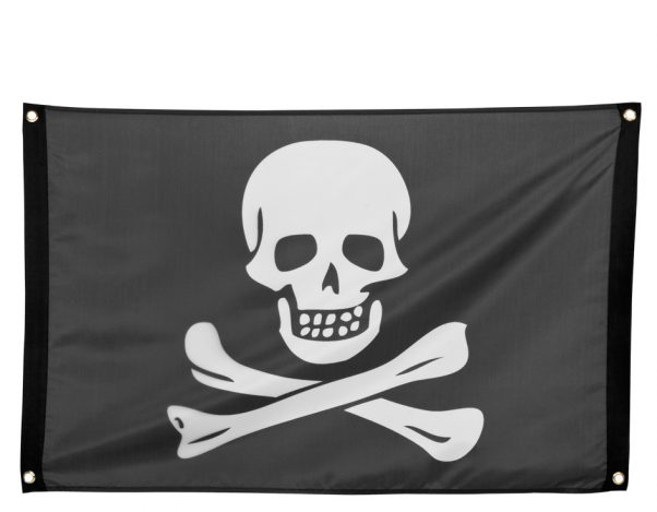 Photo du produit Drapeau pirate avec oeillets