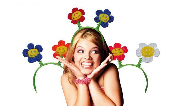 Photo du produit Serre-tête fleurs adulte