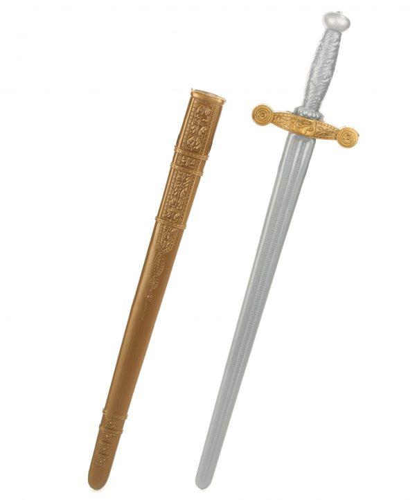 Photo du produit Epée chevalier médiéval en plastique