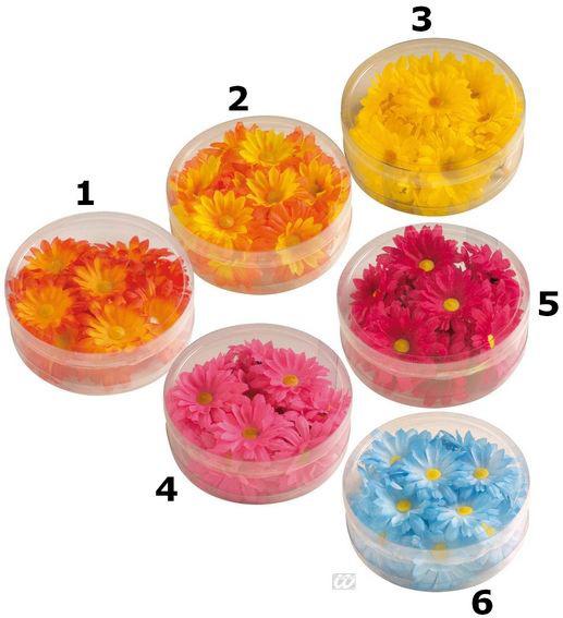 Photo du produit Décoration fleurs synthétique colorée