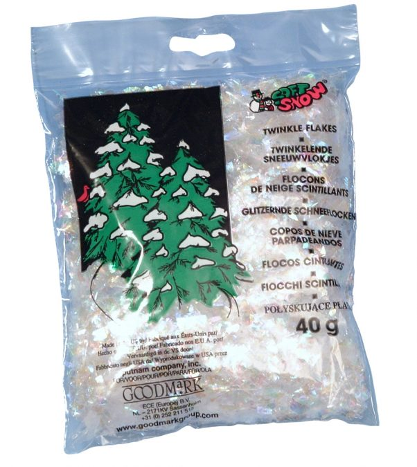Photo du produit Flocons scintillants Noël