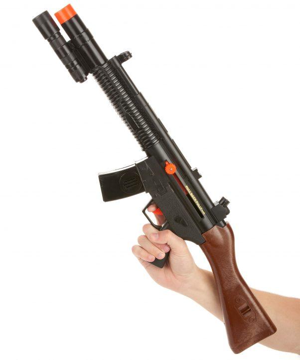 Photo du produit Fusil d'assaut de soldat sonore en plastique