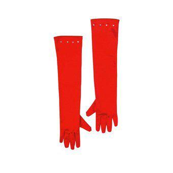 Photo du produit Gants longs rouges enfant