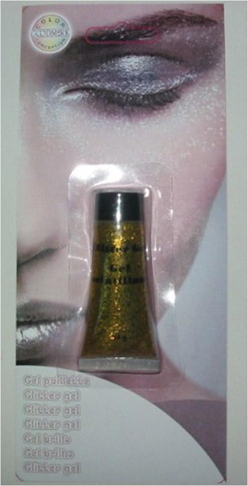 Photo du produit Gel à paillettes dorées 14 g