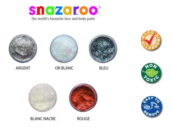 Photo du produit Gel à paillettes Snazaroo 12 ml
