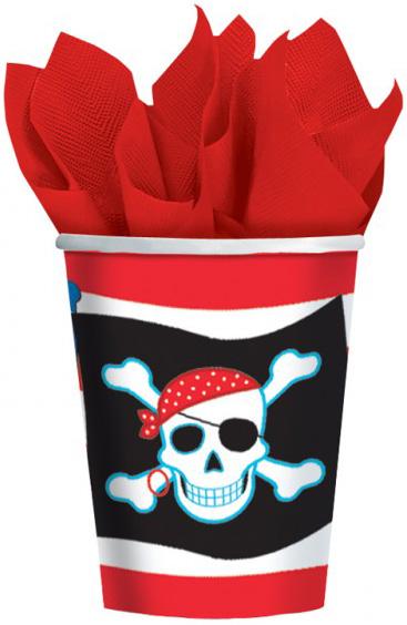 Photo du produit Gobelets motif pirate
